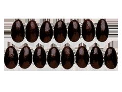 Jelly Belly Dark Chocolate Almonds Peg Bag - Миндаль в шоколаде